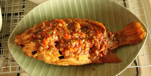 рыба фото жареная